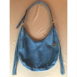 c082d56dc9bb Michael Kors Bags - Michael Kors Rhea Large Slouchy Shoulder Bag-Denim